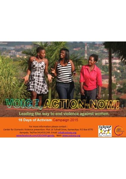 16 Days Of Activism PowerPoint Presentation 2015