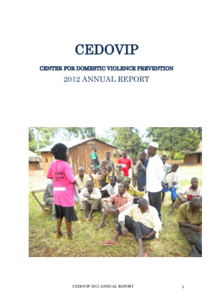 2012 CEDOVIP ANNUAL REPORT