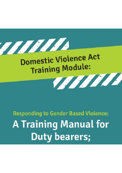 Domestic Violence ACT Training Module Final