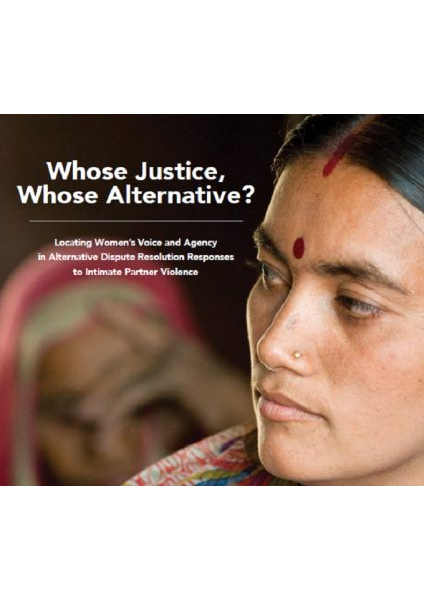 Whose Justice, Whose Alternative ICRW Mediation Paper