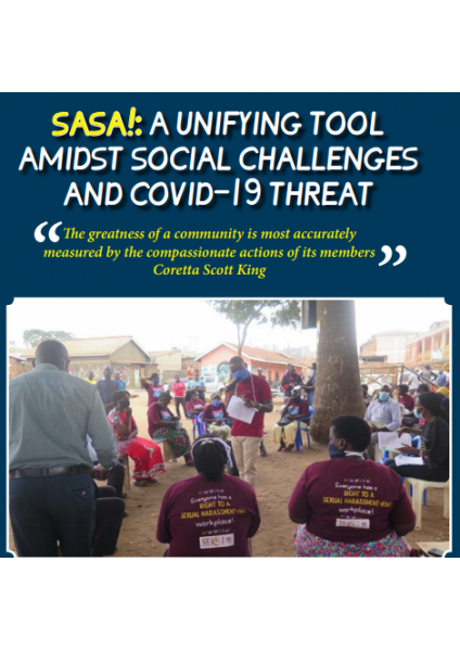 SASA! A Unifying Tool Amidst Social Challenges And COVID-19 Threat