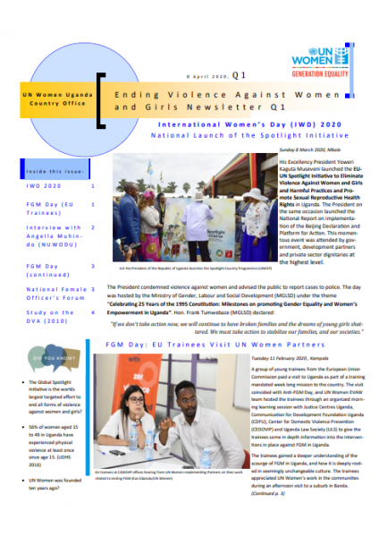 UN Women Uganda Newsletter